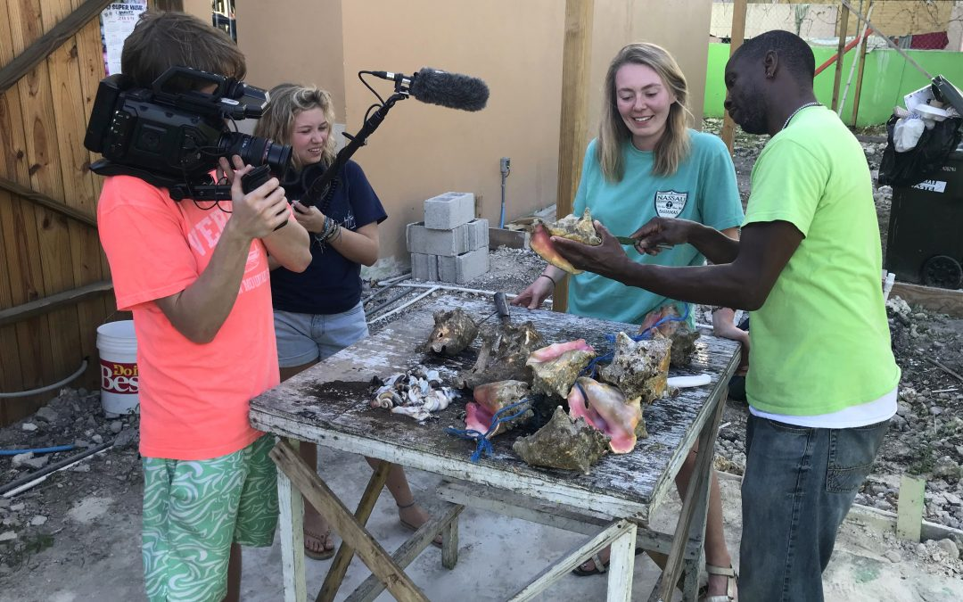 Grace Films Conch in The Bahamas
